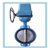 Casting/Ductile Iron Electric Actuator Wafer type Butterfly Valve