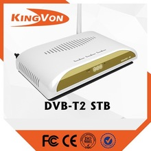 digital tv for dvb t2 set top box with wifi function support free sample to test