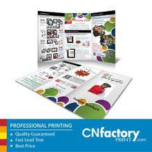 company brochure printing 157g c2s art paper brochure cartoon brochure