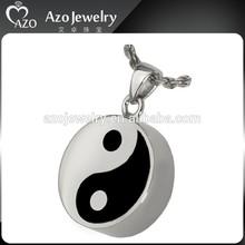 Stainless Steel Yin Yang Ash Pendant Jewelry Wholesale