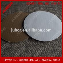 White Corrugated Round Cake Board Circles
