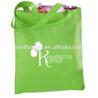 supermarket reinforced hot sale nonwoven pocket foldable tote bag