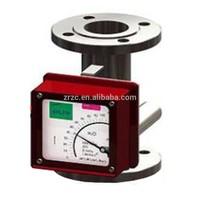 digital fuel flow meter metal tube variable area flowmeter rotameter glass tube rotameter flow meter pulse output water meter