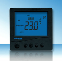 programmable LCD heating control adjust room thermostat