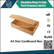 Hungtochin Pack direct factory custom E flute a4 size file box