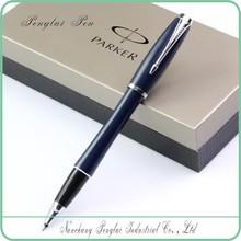 Luxurious Metal parker urban gel engraved metal parker pen for promotion product