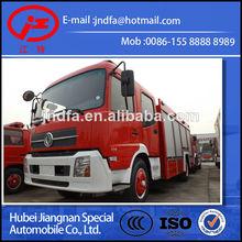 JDF5150GXFPM60T DONGFENG DFL water foam fire fighting truck 6T