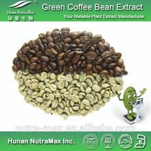 Halal e Kosher café verde extrato 4:1 / verde cápsulas de café