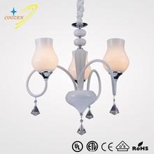 GZ20572-3P crystal luster E14 VDE/UL pendant light wholesale crystal modern chandeliers