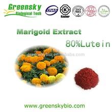 5% 10% 90% Lutein Marigold Flower Extract