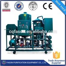 turbine oil regeneration machine/engine purifier filter oil purification