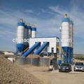gran hzs120 concreto de mezcla de cemento de la planta de proceso por lotes para la venta