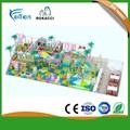 Interior palyground crianças brincam sistema estrutura para jogos
