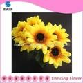 Yapay ayçiçeği ipek çiçekler dekorasyon( af- 03)