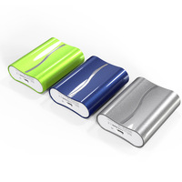 portable mobile battery charger 4000mAh 18650 samsung cells power bank for degital devices