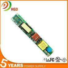 HG-501 21w cheap led driver Shenzhen factory selling 260mA led tube driver