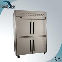4 Door Medium Temperature Upright Refrigerated Cabinet