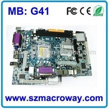Socket 775 dual core ddr3 motherboard G41 chipset Mainboard For desktop