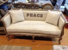 Factory Price antique luxury carving wooden sofa furniture design