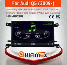 HIFIMAX 6.5'' WIN CE 6.0 Car DVD Player For Audi Q5 2009 onward Car Radio Car dvd Gps Navigation system