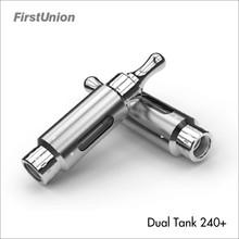 New product big vaporizer cartomizer mixed flavor dual tank 240+ buy clearomizer starter kit