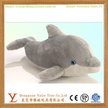 OEM custom design sea animals plush blue dophin