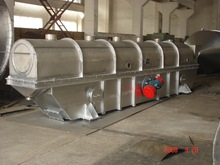 Continuous Vibrating Fluidized Bed Dryer for Powders