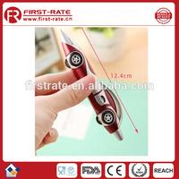 2015 Hot sale top quality fashion latest racing car shape promotion pen