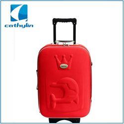 2015 Hot-selling low minimum order plain luggage sets
