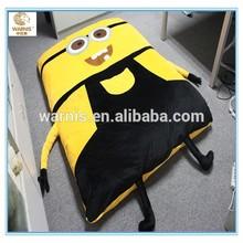 Cute cartoon aby minion bed sleeping bag kids cartoon bed sofa