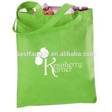 virgin material local factory wholesale non woven shopping tote bag