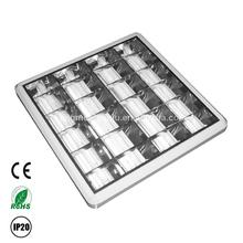 4 x 18 w nuevo producto parrilla luminaria con reflector de aluminio
