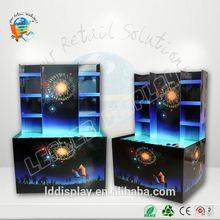 projeto novo cartão de loja de varejo de fogos de artifício display stand