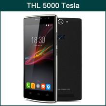 In Stock THL 5000T Tesla 5000mAh MTK6592M 5 Inch Octa Core Mobile Phone Wholesale