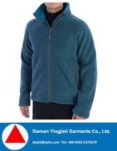 North European Style 300g High-Pile Men Polar Fleece Jacket For Winter Camping