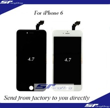 Free shipment!!!lcd screens touch digitizer for iPhone 6, glass+frame+display for iPhone 6