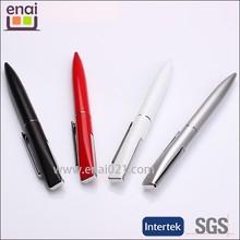 attractive Eye flat head metal ball pen women pen with pen pouch