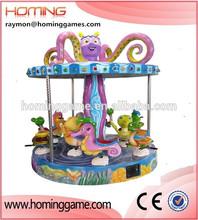 2015 hot sale amusement carousel rides/merry go round for sale mermaid ocean walking