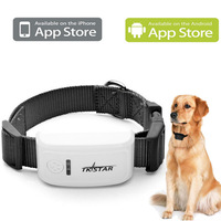 Free Platform Real Time Tracking Geo-fence Smart Phone Control Mini Pet GPS tracker with collar
