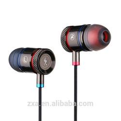 New fashion neodymium headphone driver 3.5mm isolation sound dj headset earphone.