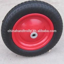 13inch 3.0-8 pu wheel for wheelbarrow