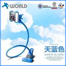 Wholesale adjustable angel clip design phone holder plastic made in china