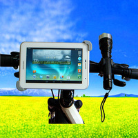 360 Degree Rotatable Bicycle Bike Tablet Holder Handlebar Clip Mount Stand for iPad Mini for Samsung Galaxy Tab 2/3 7 8 inch
