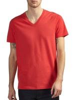 premium v-neck pima cotton t shirt wholesale