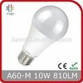 10 W LED bombilla A60 E27 800LM SMD2835 RA > 80 PF > 0.5