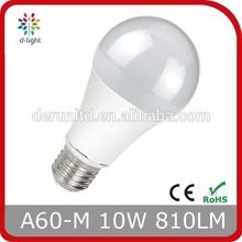 10W LED BULB A60 E27 800LM SMD2835 RA>80 PF>0.5