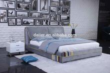 Anrise modern storage fabric bed King size Bedroom furniture home furniture