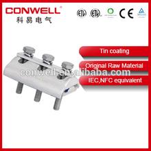 tin coating al-copper groove clamp fasteners