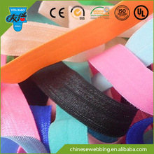 Solid Color Fold Over Elastic for Headband