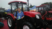 150 HP 4wd farm tractor and matched tools supply for Papua farmer